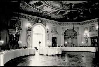 William C. Brumfield. Throne Room. Pavlovsk Palace.. 1988. Photograph.