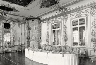 William C. Brumfield. Catherine Palace. Cavaliers' Dining Room.. 1988. Photograph.