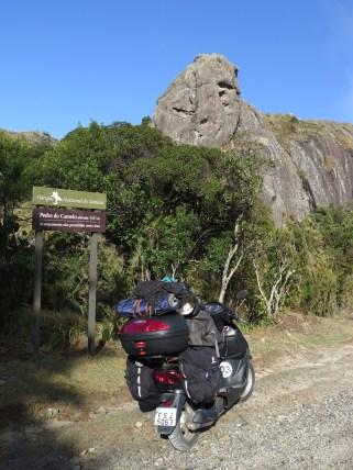 Visual ímpar do Parque Nacional do Itataia. Foto: Alexandre Dupont.