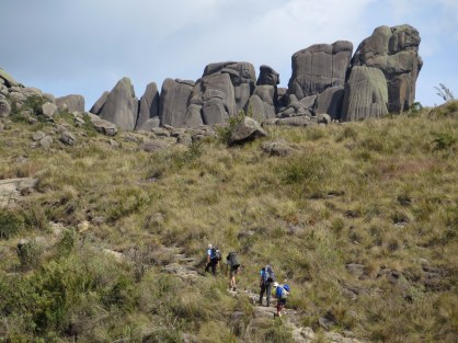 Morro das Prateleiras (2.540 m). Foto: Alexandre Dupont.