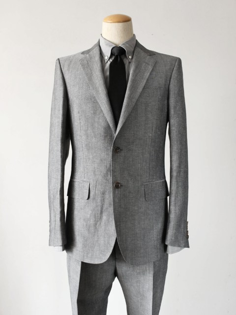 17SS WACKOMARIA SINGLE BREASTED SUIT GRAY 1