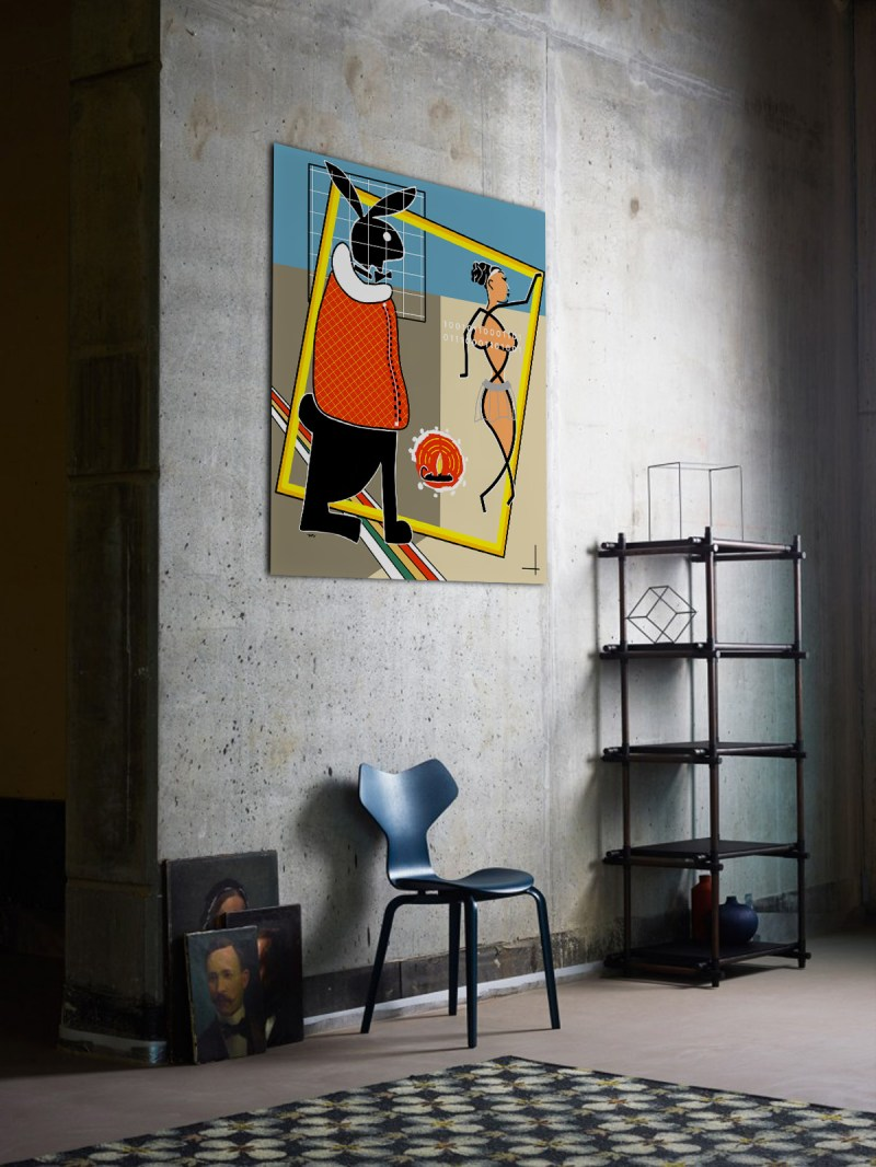 PLAYBOY - originale - peinture néo expressionnisme - tmpx