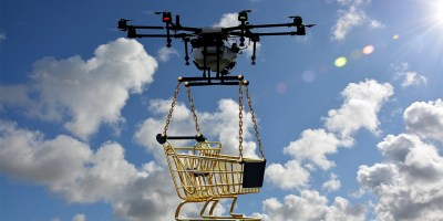 Drone Pioneering Aerial Deliveries in Healthcare Industry