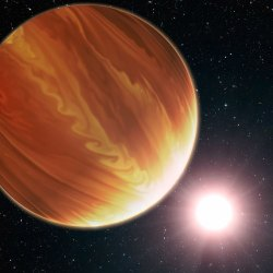Hubble's Telescope Discovers an Exoplanet Outside the Solar System