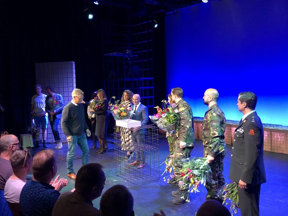 TheaterMakers Radio Kootwijk vuurdoop