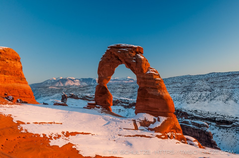 Winter Arch by T.M. Schultze