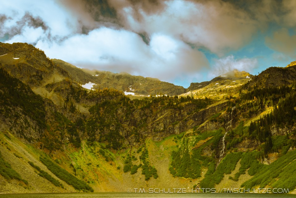 Rainy Lake Storm, North Cascades, by T.M. Schultze