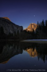 Half Dome, Twilight