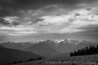 Storm Over Hurricane Ridge