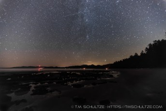 Shi Shi Beach and Meteor