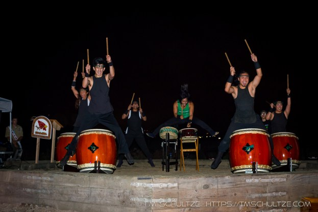 Naruwan Taiko Drummers # 12, by T.M. Schultze