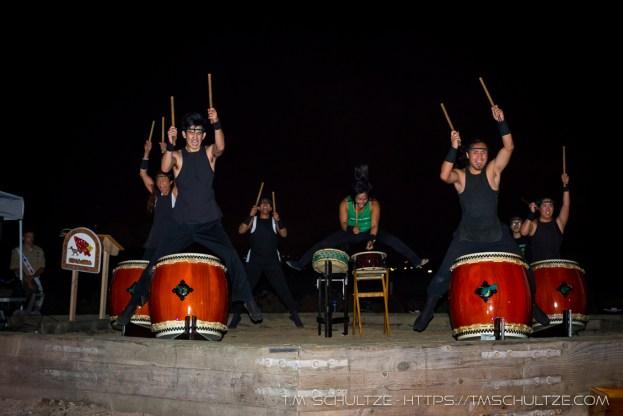 Naruwan Taiko Drummers # 12, by T.M. Schultze