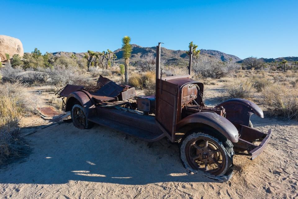 Rusty Truck, Joshua Tree, Daytime, by T.M. Schultze