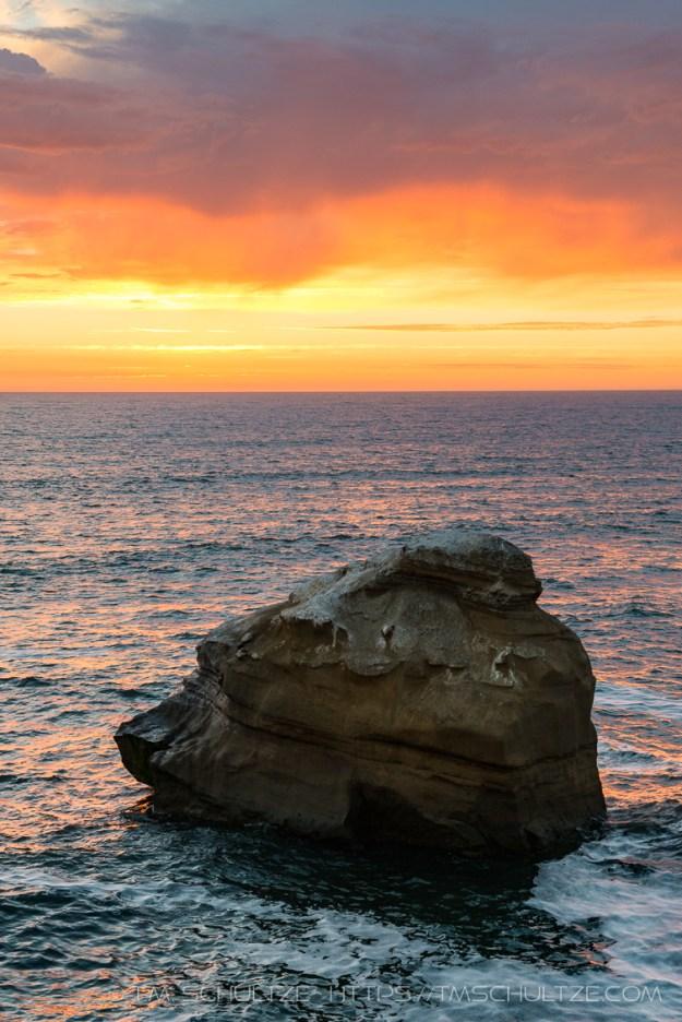 Glow Above Ross Rock by T.M. Schultze