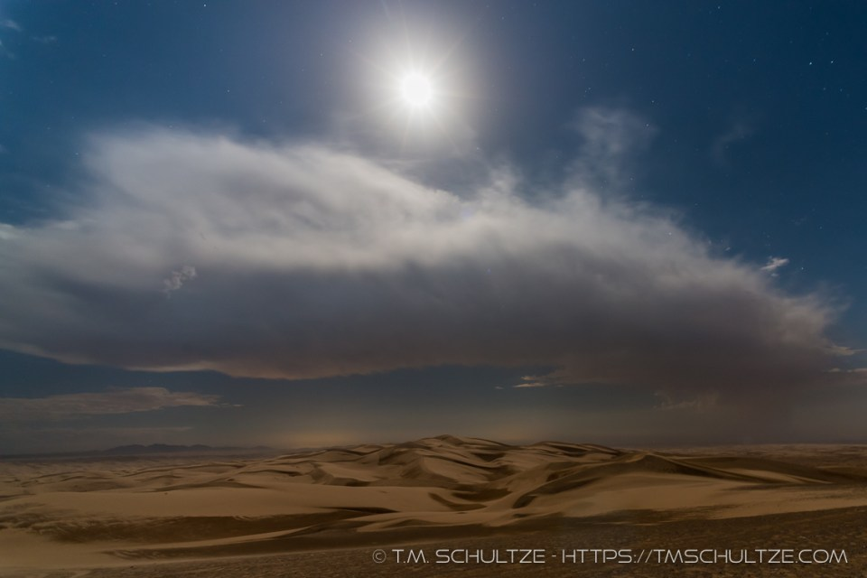 Looking over Glamis