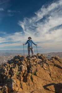 Me, Garnet Mountain