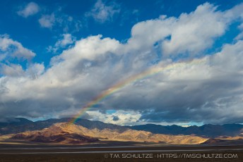 Rainbow Over Badwater Basin