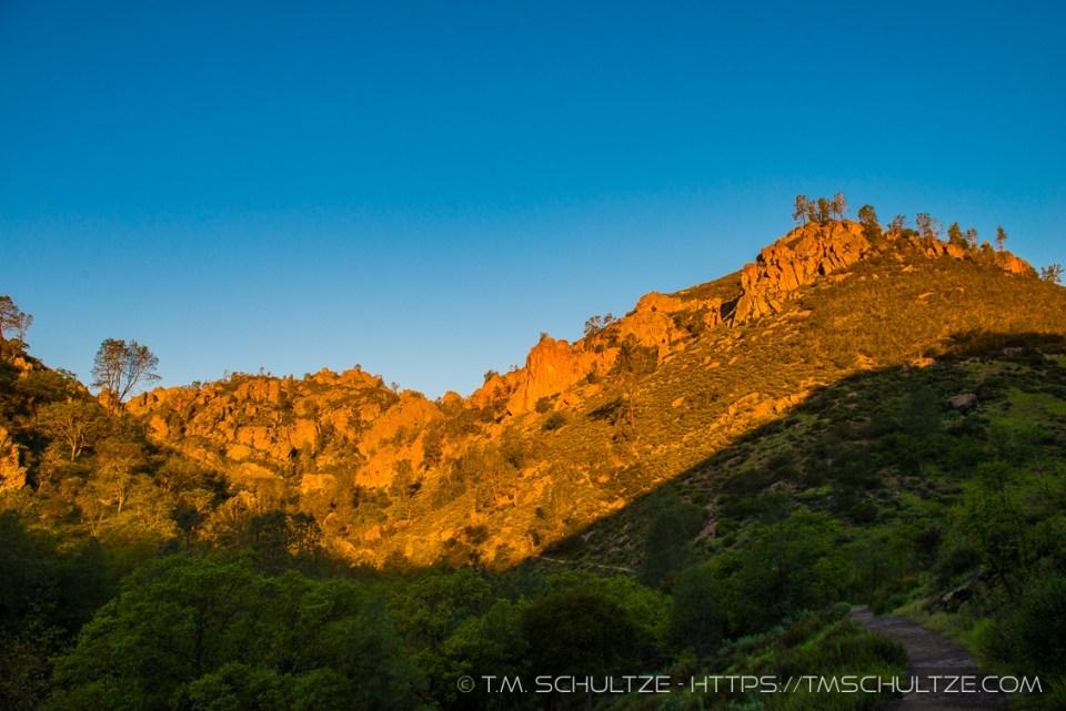Condor Gulch Trail, Sunrise, Pinnacles National Park, by T.M. Schultze