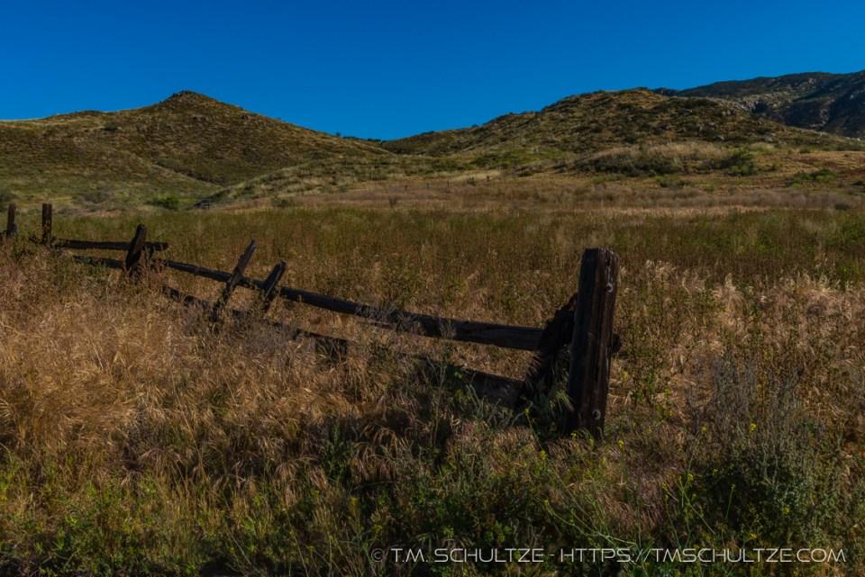 Fenceline, Hollenbeck Canyon, by T.M. Schultze
