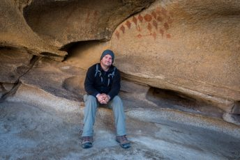 Me, Pictographs, Joshua Tree