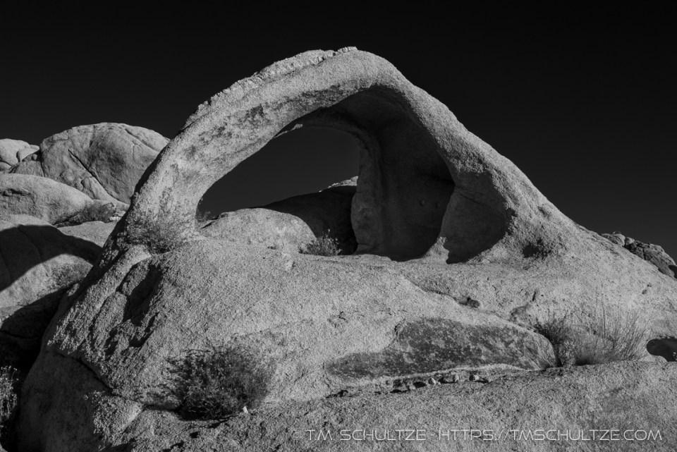 Coxcomb Arch, Black and White, by T.M. Schultze