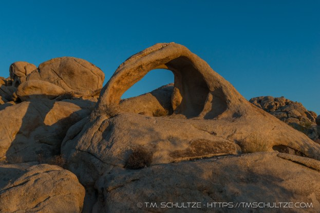 Last Light On The Arch by T.M. Schultze