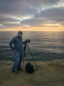 Me at Sunset Cliffs