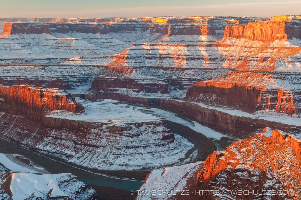 Dead Horse Point Sunrise by T.M. Schultze