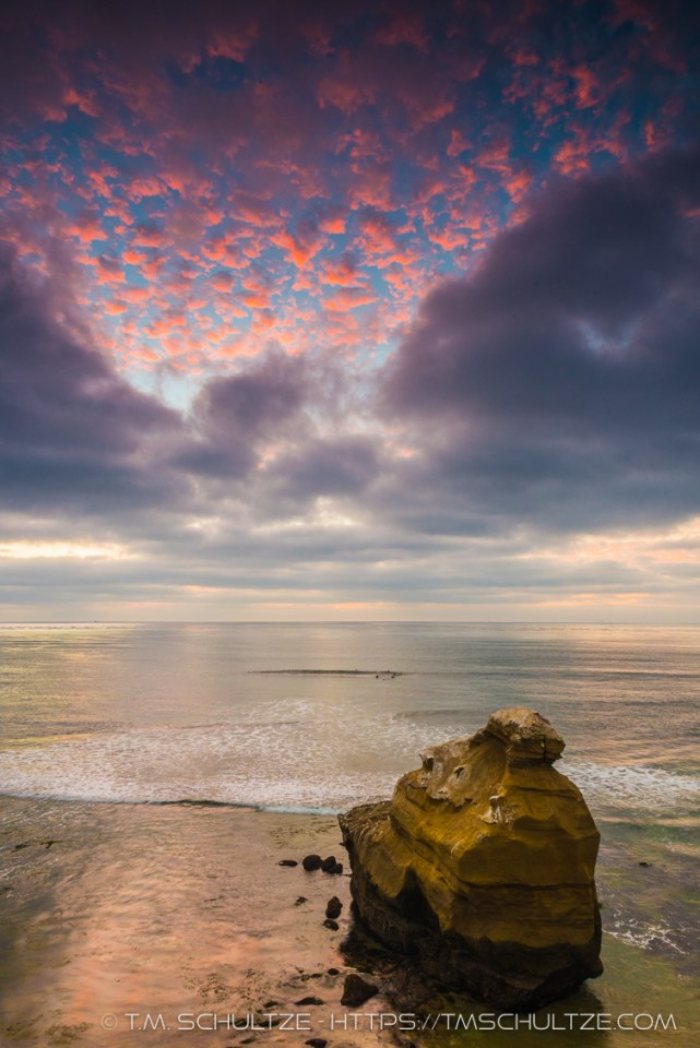 Ross Rock Twilight by T.M. Schultze
