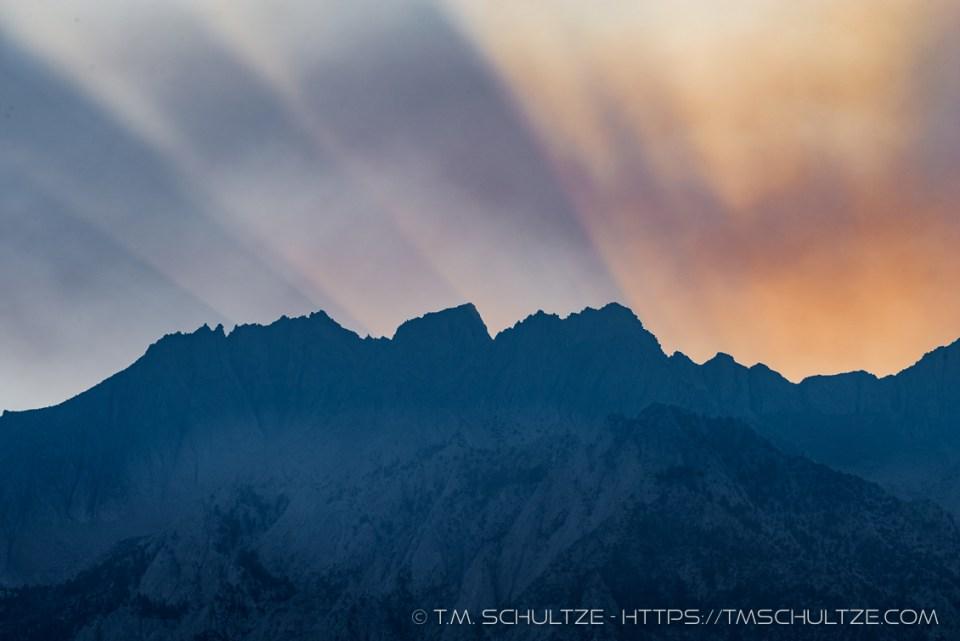 Lone Pine Peak - Rough Fire