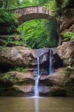 Old Man's Cave Upper Falls, Hocking Hills State Park, Ohio