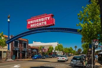University Heights Neighborhood Sign