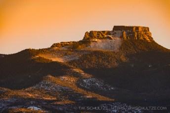 Fishers Peak Sunset