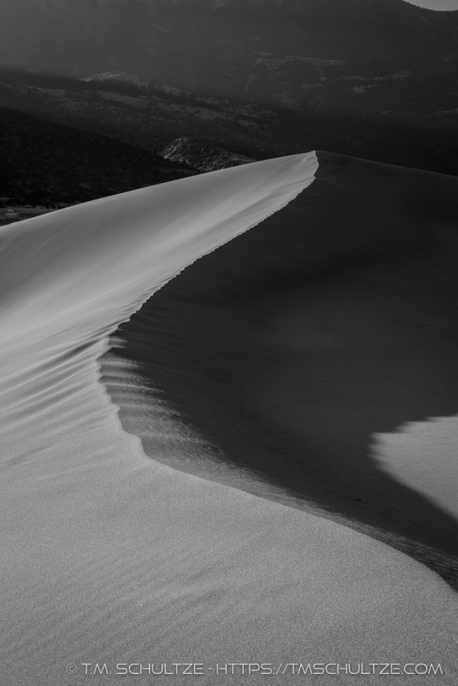 Dune Mountain Shadow by T.M. Schultze