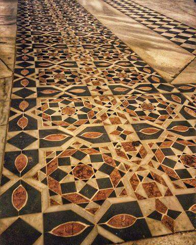 Floors uncovered at the Dome of the Rock validate our research on original crusader floors on the Temple Mount