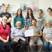 staff at the research laboratory