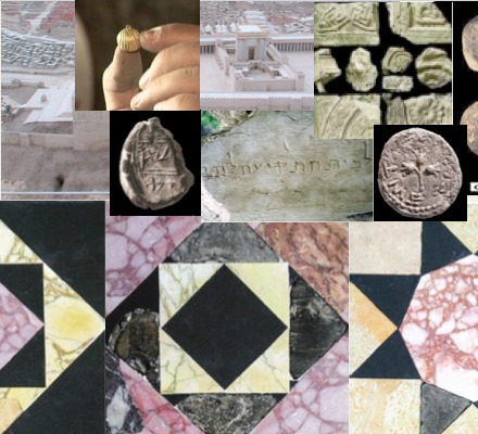 Evidence from artifacts from the Temple Mount