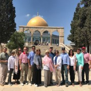 Group photo at Temple Mount