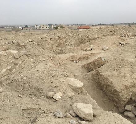 Dumped Temple Mount soil