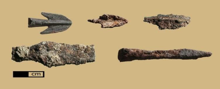 ראשי חץ רומים מתקופת הבית השני