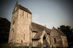 Ilam church side on