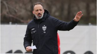 "VfB Stuttgart continues with coach Matarazzo: ""The handwriting is clearly recognizable"""
