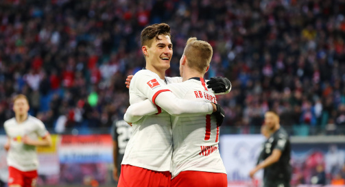 RB Leipzig: Roma reject €25m offer for Schick - Everton and ...