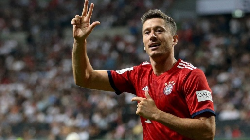 Lewandowski named Bundesliga's player of the year