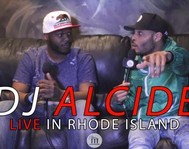 DJ Alcide LIVE at Cousin Stizz Show (Rhode Island)