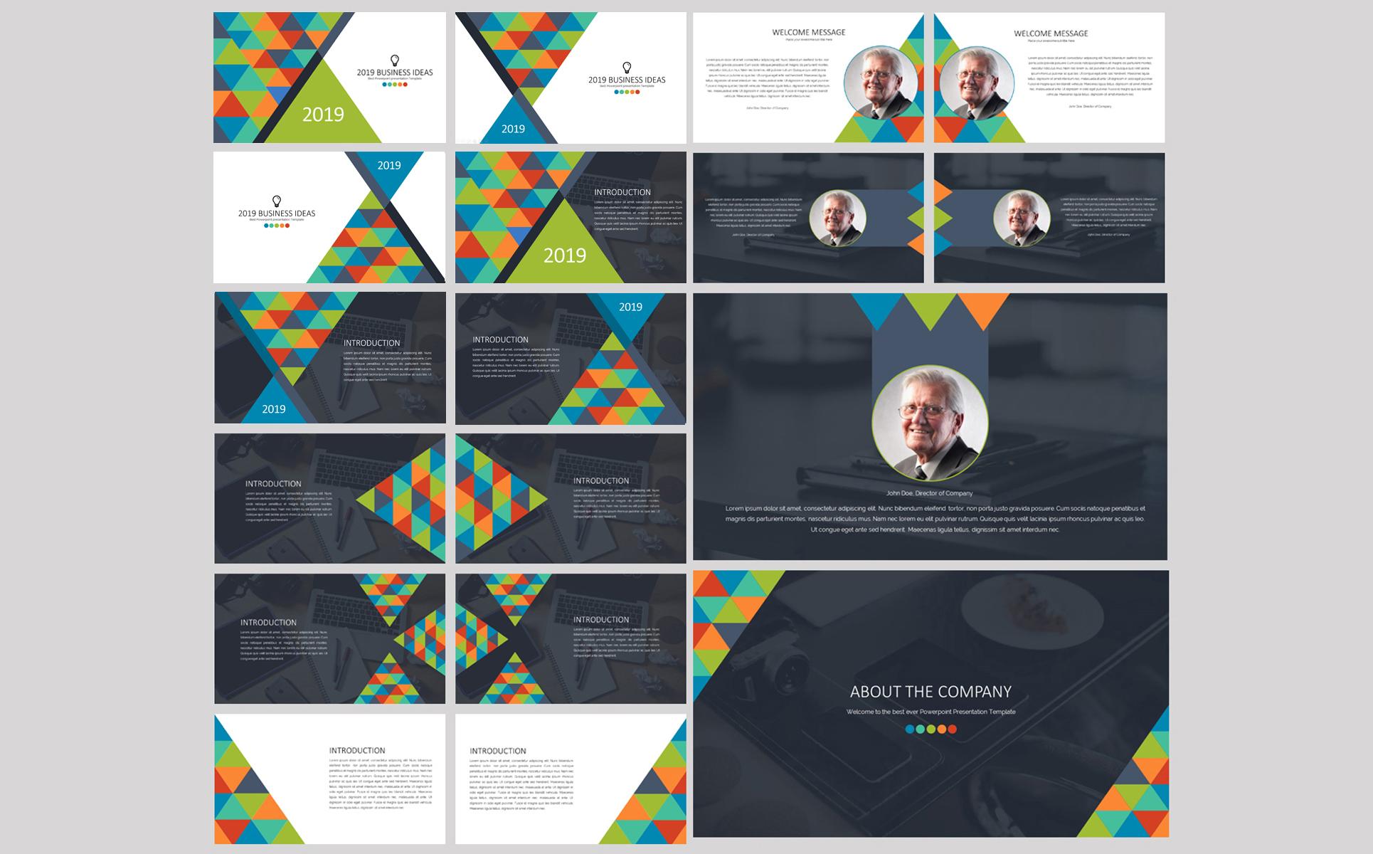 2020 Business Ideas Google Slides