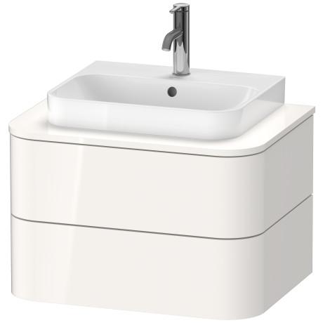 Happy D 2 Plus Meuble Sous Lavabo Suspendu Pour Plan De Toilette Hp4960 Duravit