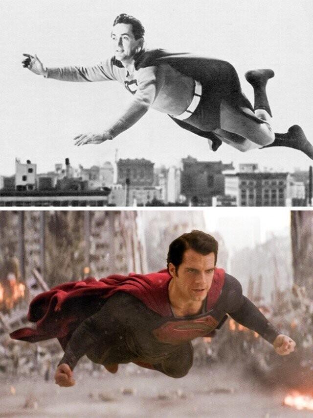 """""""سوپرمن"""" 1948 و """"مرد فولاد"""" 2013"""