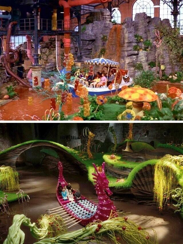 """Willy Wonka و کارخانه شکلات"" 1971 و ""کارخانه چارلی و شکلات"" 2005"
