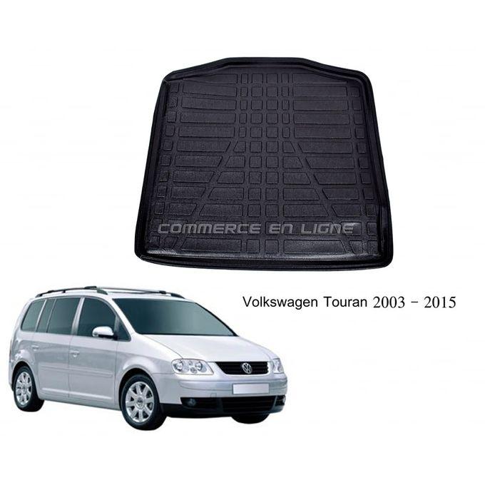 tapis de coffre 3d pvc volkswagen touran 2003 2015